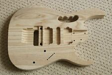 Ash 3 Piece - Ibanez Replacement Body Unfinished - AANJ Fits RG JEM