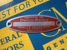 Original 1952 1953 Chevrolet Safe-T-Way Service Mirror Hang Tag 52 53 Chevy