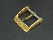 """For Repair Parts"" Longines Vintage Gold Tone Watch Buckle Lug 14mm reloj uhr"