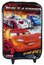 Disney Cars Rolling Luggage Case Lightning McQueen Kids Boys Bag Travel Suitcase