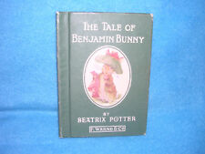 Potter 23 Tales: Tale of Benjamin Bunny by Beatrix Potter (1904, Hardcover)