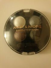 Boxed Max & More Baked Professional Eyeshadow Make up in Blue Ocean
