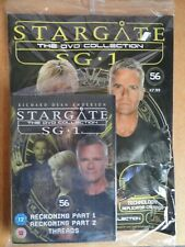 DVD COLLECTION STARGATE SG 1 PART 56 + MAGAZINE - NEW SEALED IN ORIGINAL WRAPPER