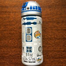 NEW Disney Star Wars R2-D2 Super Miracle Bubbles Solution 8oz