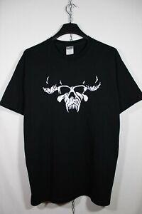 Vintage Danzig T-Shirt Heavy Metal Punk  Rock Band Shirt Tee L Samhain Misfits
