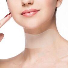 Hals-Pflege Pad Silikon Anti-Falten Alterung wiederverwendbare Transparent Pads