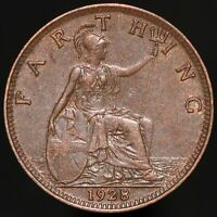 1928 | George V Farthing | Bronze | Coins | KM Coins