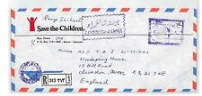 BT80 Lebanon Beirut Commercial Air Mail Cover {samwells}PTS