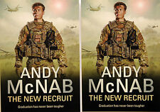 2 X ANDY McNAB THE NEW RECRUIT POSTCARDS