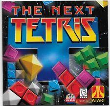 The Next Tetris PC CD Challenging Puzzle game atari