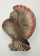 "Vintage Royal Copley Pottery ""Puffy"" Pigeon Dove Figural Bird PlanterVase"