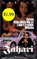 Jahari - Come Ride With Me Cassette Tape Single *New*