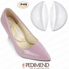 PEDIMEND Silicone Gel Arch Shoe Insoles (6 PCS) - Flatfoot Corrector Pads - UK