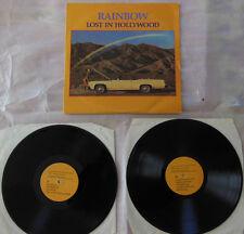 RAINBOW  ****    LOST IN HOLLYWOOD   2 LP        (Rotterdam 1981)