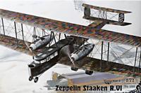 Roden 055 Zeppelin Staaken R.VI German Fighter - 1/72 Scale Model Kit 586 mm