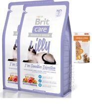 2x7kg Brit Care Cat Lilly Sensible Super-Premium Katzenfutter+ 85g Frischebeutel