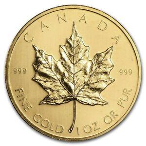 1979 Canada 1 oz Gold Maple Leaf BU