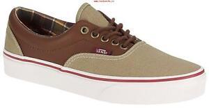 Vans Era (Canvas & Leather) Skate Shoes, Coriander/Potting Soil
