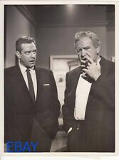 Raymond Burr Barton MacLane Perry Mason VINTAGE Photo