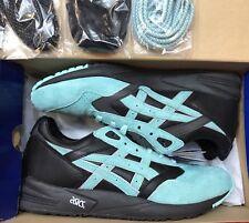 Asics Gel Saga Diamond Supply Ronnie Fieg KITH Black Teal H50EK 9048 Sz 10