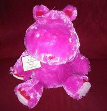 Hallmark Lola Valentine Love Hippo Pink Talking Soft Fur Plush Wiggle Ears Lnwt
