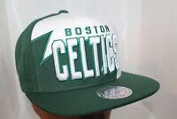 Boston Celtics Mitchell & Ness NBA Shark Tooth Snapback,Hat,Cap      $ 38.00 NEW