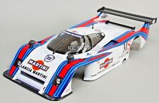 1/12 RC Car BODY Shell LANCIA LC2 Martini Racing *FINISHED