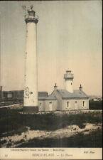 Berck-Plage France Le Phare Lighthouse c1910 Postcard