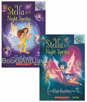 Stella and the Night Sprites 1-2 Knit-Knotters +(Paperback) FREE shipping $35