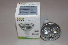 NEW - High Power GU10 Warm White Led Lamp Bulb - AC 100-140 volt