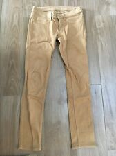 New MIH JEANS Low Rise Super Skinny VIENNA Tan Brown Jeans Denim Pants 27