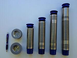 Upstand strainer waste for s/steel sinks. Plug overflow tube, strainer 320x80mm