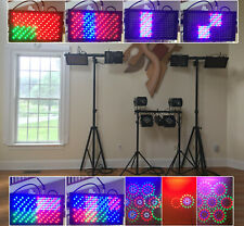 Wireless Dmx Light Show System with fixtures, controller and software