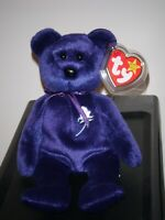 Ty Beanie Baby - PRINCESS Diana Bear 1997 RARE & RETIRED - MINT with MINT TAGS