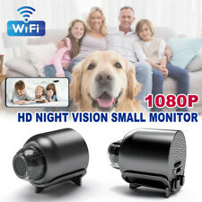 Mini Wifi Überwachungskamera 1080P Nachtsicht Bewegungsmelder Versteckte Spycam