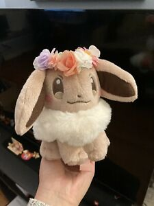 Pokemon Center Original Plush Doll Eevee Easter Version Japan Import
