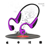 Sport Bone Conduction Earphone Wireless Bluetooth 5.0 Headset Headphone Fitness
