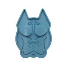 Shiny Defense Dog Silicone Mold for Epoxy Resin Crafts