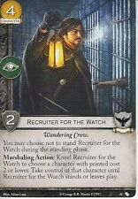 3 x Recruiter for the Watch AGoT LCG 2.0 Game of Thrones The Fall of Astapor 45