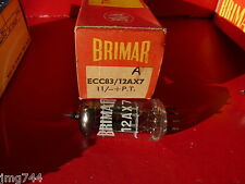 ECC83 BRIMAR 12AX7  UK A  NEW OLD STOCK VALVE TUBE  J15