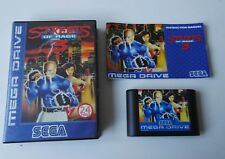 MEGA RARE Streets of Rage 3 Sega Mega Drive Game Megadrive Boxed with Manual PAL