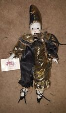"""San Francisco Music Box Co Court Jester Music Box Plays Great 15"""""""