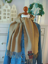 John Hanly ltd. Irland Winterschal Wollschal in Camel Braun bei Lucie & Rose