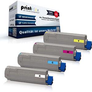 4x Compatibile Toner Per Oki C 5550/5800/5900 Color -drucker Serie Pro