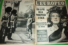 L'Européen 1954 Molina Vietri sur Le Mer + Caso Maldonado + Marlon Brando +