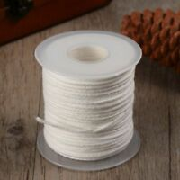 1 Spool 200 Feet Braided Wick Candle Wick Spool for Candle DIY and Candle Making
