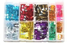 Assorted Blade Fuses 3A - 40A Amp Fuse Car Van Lorry Auto Electrical QTY 250 AT3
