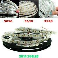 5M 12V SMD 300 LED 3528 3014 5050 5630 IP20 IP65 Waterproof Flexible Strip Light