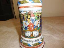 Porcelain Regimental Stein .5 Liter Reservist Miiller