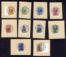 "Estland ""Pärnu Pernau"" Freimarken1941 Mi# -10 gestempelt Fälschung a. Briefstück"